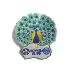 Brownsea Island - Peacock badge