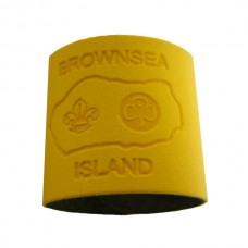 Sand Embossed Leather Woggle