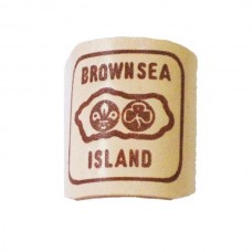 Light Brown Leather Woggle