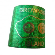 Sparkly Woggle - Green